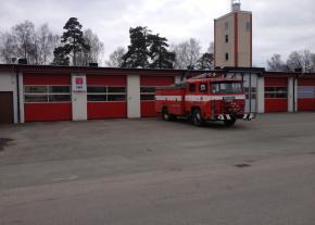Thermo 45, Brandstationen i Osby